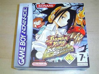 SHAMAN KING MASTER OF SPIRITS NINTENDO GAMEBOY ADVANCE *NYTT*