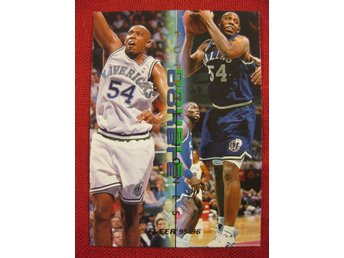 POPEYE JONES - FLEER 1995-96   - BASKET
