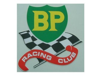 BP Racing Club Dekal XL.