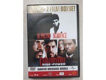 Dvd:Action/Thriller:Al Pacino:Scarface och Carlito s Way: - Nora - Dvd:Action/Thriller:Al Pacino:Scarface och Carlito s Way: - Nora