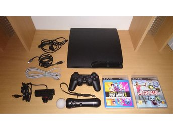 Playstation 3 Slim + Move - PS3