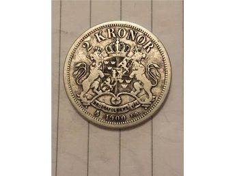 Oscar II 2 kr 1900 - Kungälv - Oscar II 2 kr 1900 - Kungälv