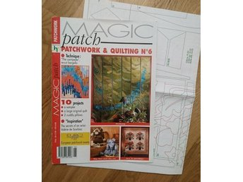 Tidning Magic Patchwork & Quilting + Mönsterark