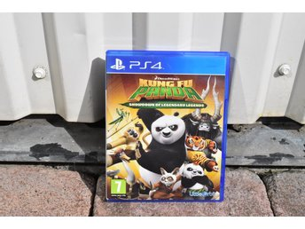 Playstation 4 PS4 Kung Fu Panda showdown of legendary legends