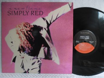 SIMPLY RED - A NEW FLAME - ELEKTRA 60828-1