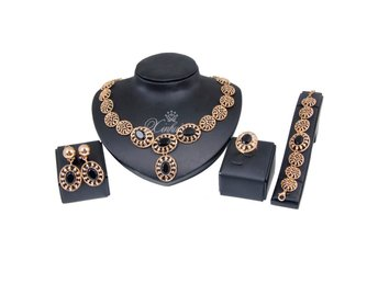 Hot selling Women African Jewelry silver Fashion Bride Wedding see pictures