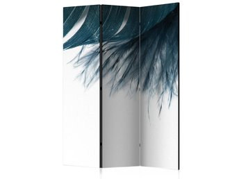 Rumsavdelare - Dark Blue Feather Room Dividers 135x172