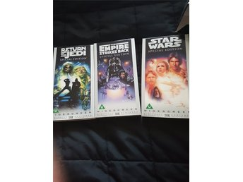 Star Wars trilogin. Special Edition. Vhs.