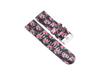 Garmin Fenix 3 silicone watchband strap- Rose Flowers