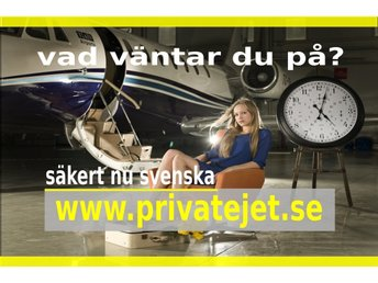 Domän Premium privatejet.se for Privatejetcharter