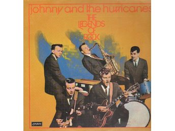 LP Johnny & The Hurricanes The legends of rock