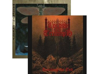 Lords Of Triumph / Mountain Throne ‎–Split lp doom / heavy