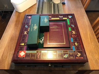Franklin Mint's Monopoly Collectors Edition