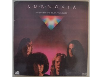 Ambrosia Somewhere Ive Never Travelled Vinyl LP 1976