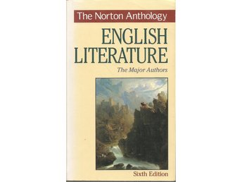 The Norton anthology of english literature.
