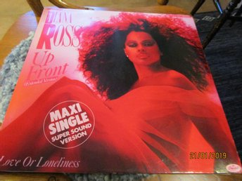 DIANA ROSS - UP FRONT + LOVE OR LONELINESS - MAXI