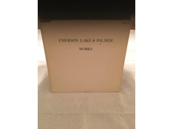 Emerson Lake & Palmer, Works Vol.2, Atlantic, Original, UK, 1977