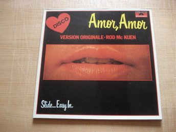 LP:n Amor, Amor Version Originale Rod Mc Kuen