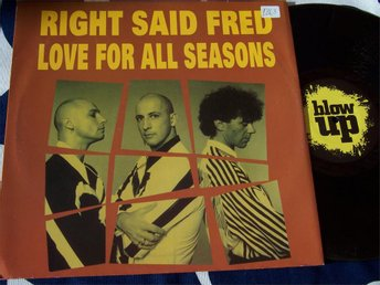 "RIGHT SAID FRED - LOVE FOR ALL SEASONS 12"" 1992"