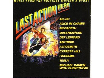 Last Action Hero soundtrack CD / AC/DC / Megadeth / Anthrax
