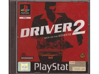 DRIVER 2, PS1 - Fint skick