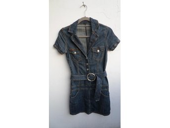 Sisters Point jeans klänning skjortklänning XS jeansklänning - Rome - Sisters Point jeans klänning skjortklänning XS jeansklänning - Rome