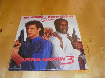 Lethal weapon 3 - widescreen edition 1st laserdisc