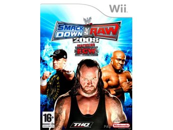 SmackDown Vs. Raw 2008 - Featuring ECW Till: WII