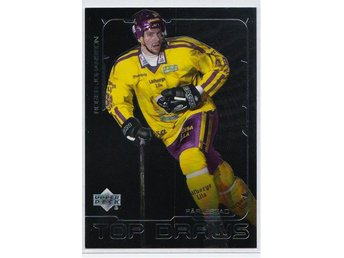2000-01 Swedish Upper Deck Top Draws Roger Johansson Färjestad