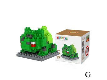 Pokemon Figurer - 3D Lego Pyssel - Bulbasaur
