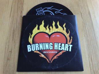 BURNING HEART (NO FUN AT ALL, REFUSED, MM) 13-TRACK PROMO-CD