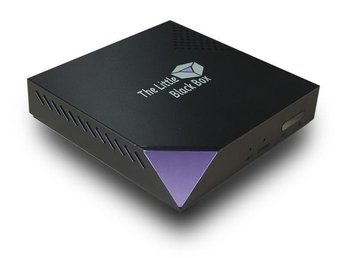 "The Little Black Box Multimedia Player V"" (streama och spela upp filer)"