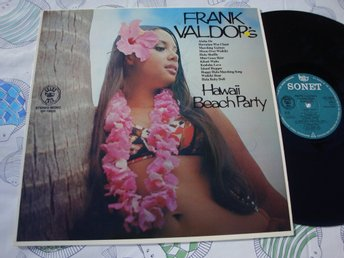 FRANK VALDOR - HAWAII BEACH PARTY LP 1974