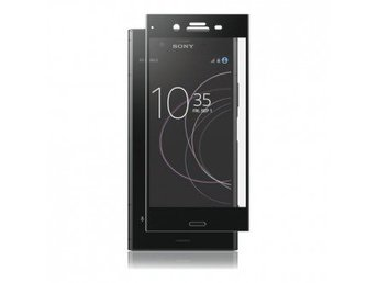 Panzer Sony Xperia XZ1, Curved Glass, Black