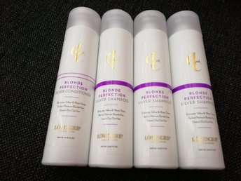 LCC Blonde Perfection Silver Shampoo 3x250ml plus Silver Conditioner Löwengrip