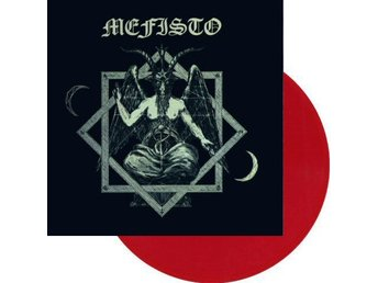 Mefisto -S/t lp RED vinyl ltd 100 copies Swedish black metal