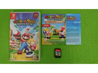 Mario + Rabbids Kingdom Battle KOMPLETT Nintendo Switch
