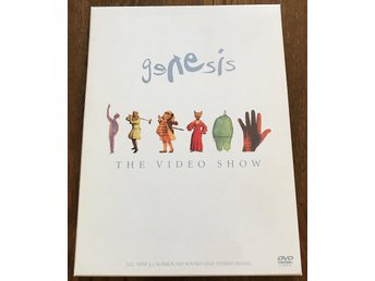 Genesis, The Video Show, 32 videor i ommixat Surround 5.1 - ospelad!
