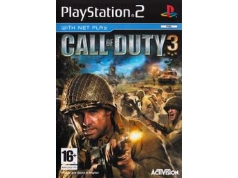 PS2 - Call of Duty 3 (Ej bok) (Beg)