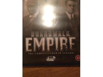 Boardwalk Empire, 4 säsongen, obruten Blueray disc