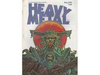HEAVY METAL ADULT FANTASY MAGAZINE MAY 1978
