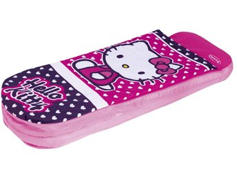 HELLO KITTY SOVSÄCK MED MADRASS
