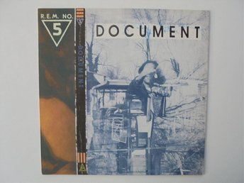 VINYL LP     R.E.M.   DOCUMENT