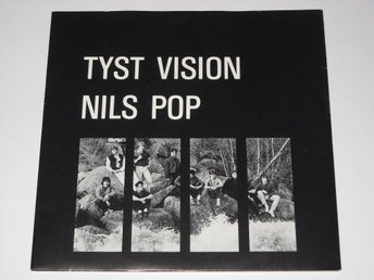 NILS POP / TYST VISION - SPLIT  EP  1983  ALT / WAVE