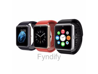 Bluetooth Smart Watch Wristwatch Simcard Guld