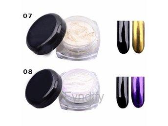 Powder Nail Gold Pigment # 8 - Dongguan - Powder Nail Gold Pigment # 8 - Dongguan