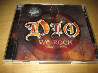 RONNIE JAMES DIO - WE ROCK.  DUBBEL-CD!