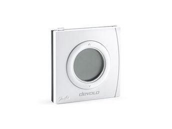 Devolo Home Control Room Thermostat, termostat, Z-Wave 868, inomhusbruk, vit
