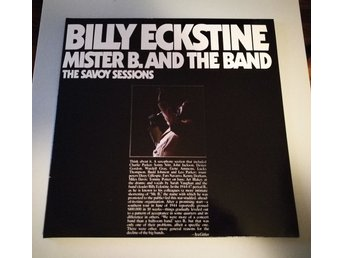 Billy Eckstine – Mister B. And The Band Savoy Records