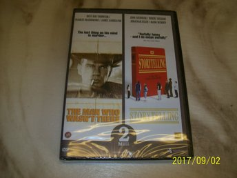 The man who wasen`t there/Storytelling (DVD) Utgått Ny inplastad
